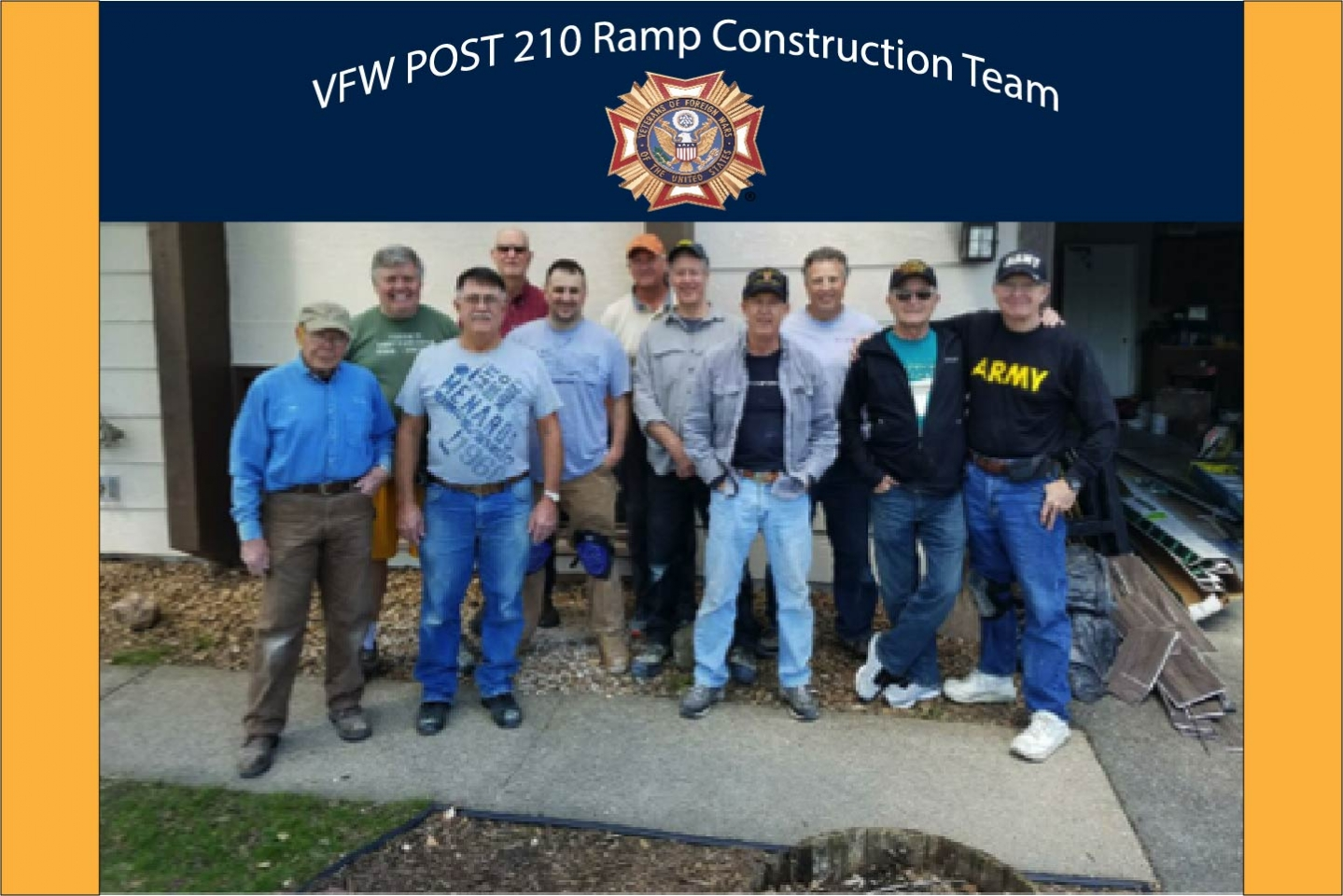 Ramp Team at Veteran Home Project May 2017