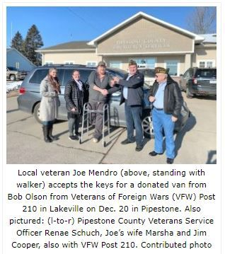 Pipestone Donation